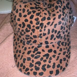 Urban Outfitters Cheetah print Hat